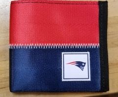 New England Patriots Belted Bi Fold Wallet