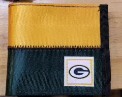 Green Bay Packers Belted Bi Fold Wallet