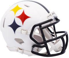 Pittsburgh Steelers NFL Riddell AMP Alternate Mini Speed Helmet