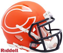 Chicago Bears NFL Riddell AMP Alternate Mini Speed Helmet