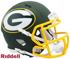 Green Bay Packers Riddell AMP Alternate Mini Speed Helmet