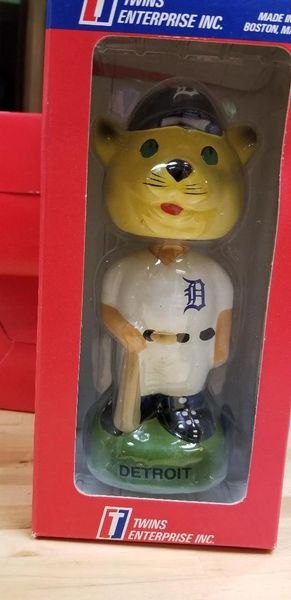 1996 Twins Enterprise Inc, Detroit Tigers Mascot Bobblehead