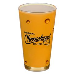 Cheesehead 16 oz Pint Pub Glass