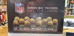 Green Bay Packers NFL Checkers Set Game