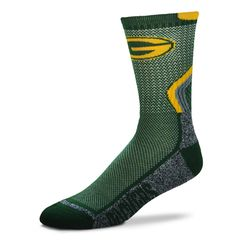 Green Bay Packers Green,Gold Marble FBF Socks