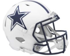 Dallas Cowboys Flat White Speed Mini Riddell Helmet