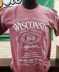 Wisconsin We've Got It All Beer,Brats Badger State Shirt