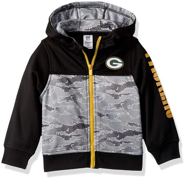 Green Bay Packers Boy/Girl Unisex Hooded Jacket