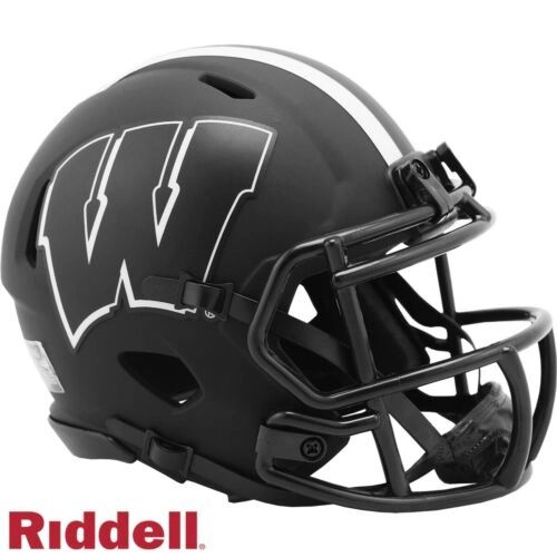 Wisconsin Badgers Riddell Eclipse Alternate Speed Mini Helmet