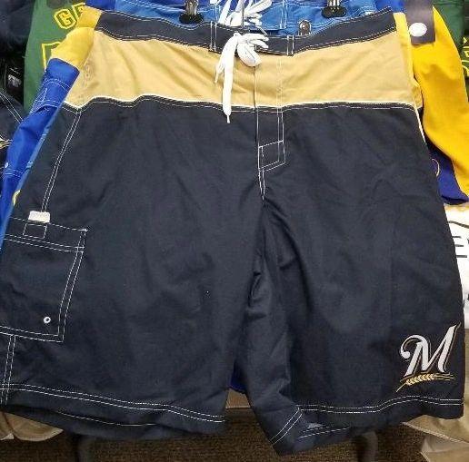 Milwaukee Brewers MLB Shorts Swim Shorts