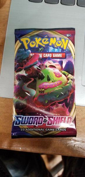 Pokemon trading card packs Sword & Shield