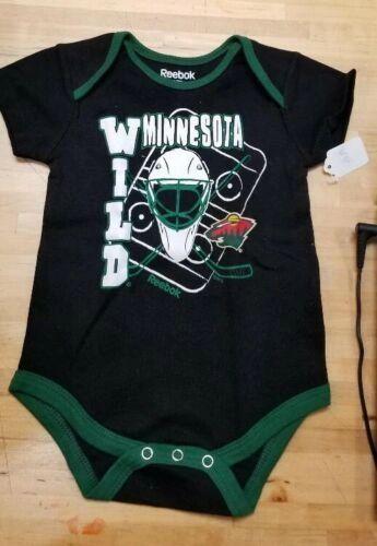 MINNESOTA WILD INFANT ONESIE BABY CREEPER ROMPER COVERALL NHL LICENSED