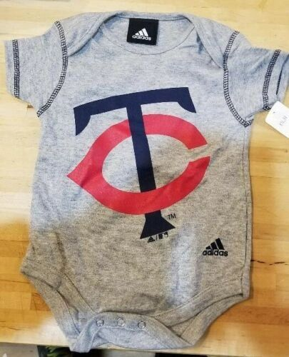 MINNESOTA TWINS INFANT BABY CREEPER ROMPER ONESIE COVERALL MLB LICENSED