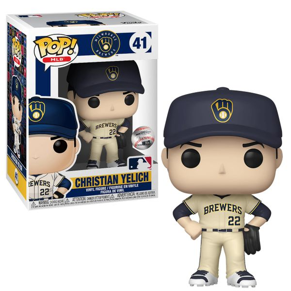 Christian Yelich Milwaukee Brewers MLB Funko Pop Series 3