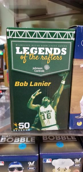 Milwaukee Bucks Bob Lanier Legends of the Rafters