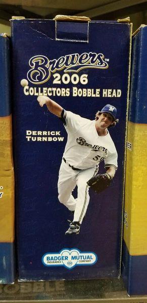 Milwaukee Brewers SGA Bobblehead 2006 Derrick Turnbow