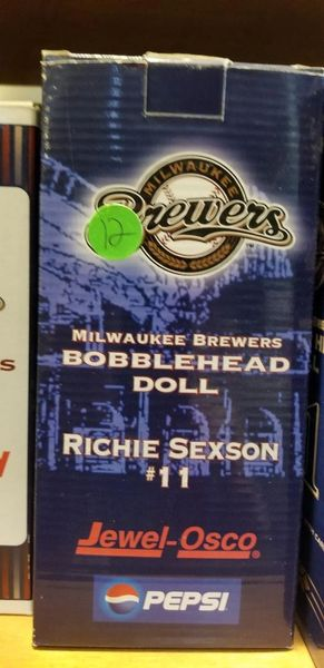 Milwaukee Brewers SGA Bobblehead Rickie Sexson