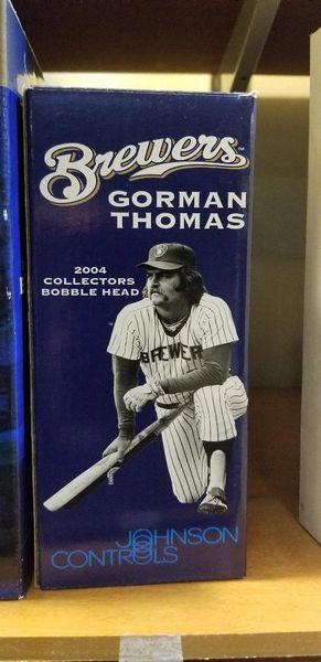 Milwaukee Brewers SGA Bobblehead Gorman Thomas