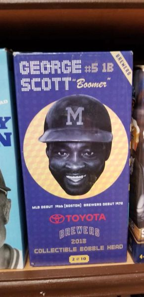 Milwaukee Brewers SGA Bobblehead George Scott