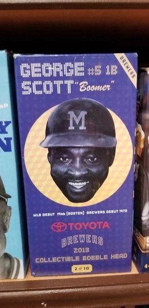 Milwaukee Brewers SGA Bobblehead George Scott