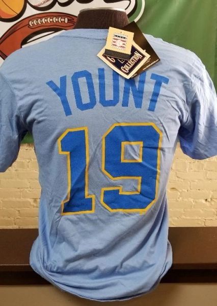 Milwaukee Brewers Robin Yount Name/Number Shirt