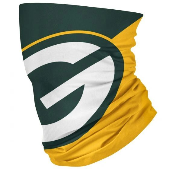 Green Bay Packers Neck Gaiter Face Mask Scarf