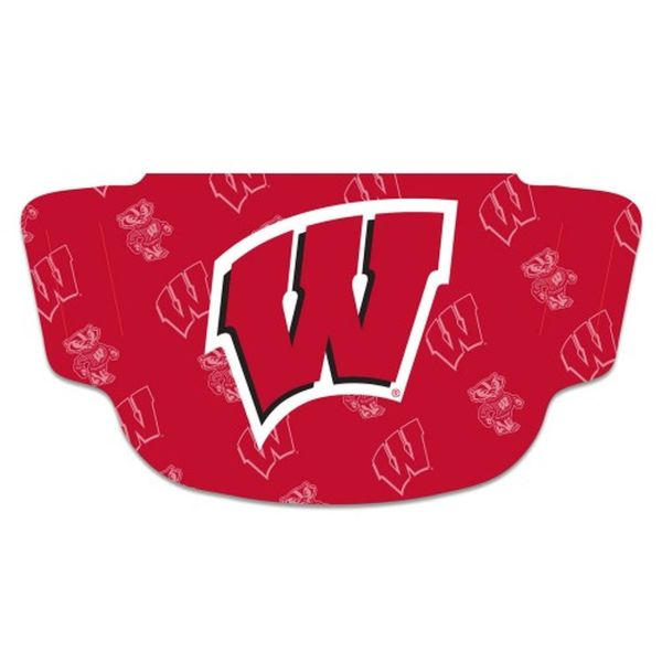 Wisconsin Badgers Face Mask Fan Gear
