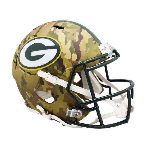 Green Bay Packers Camo Alternate Mini Speed Helmet