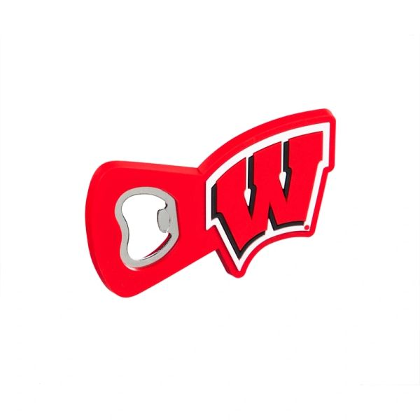 Wisconsin Badgers Magnet Bottle Opener