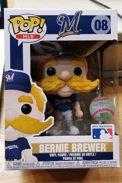 Funko POP MLB Milwaukee Brewers Bernie 08