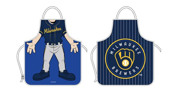 Milwaukee Brewers Reversible Gameday Apron