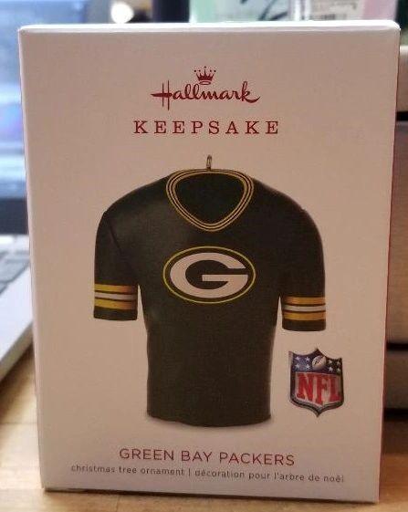 Green Bay Packers Hallmark Keepsake Jersey Ornament