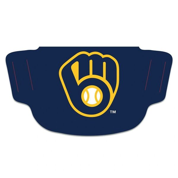 Milwaukee Brewers Face Covering Face Mask MLB