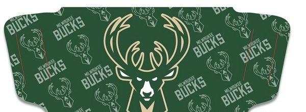 Milwaukee Bucks Face Covering Face Mask NBA