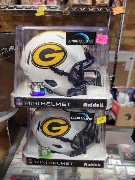 """Green Bay Packers Riddell Alternate """"Lunar"""" Speed Mini Helmet"""