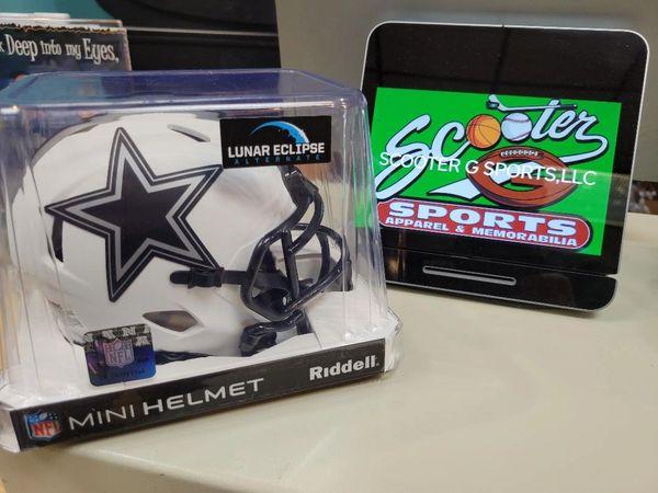 "Dallas Cowboys Riddell Alternate ""Lunar"" Speed Mini Helmet"