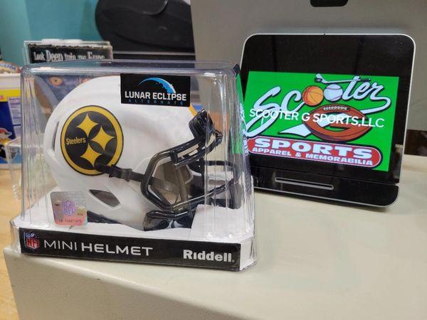 "Pittsburgh Steelers Riddell Alternate ""Lunar"" Speed Mini Helmet"