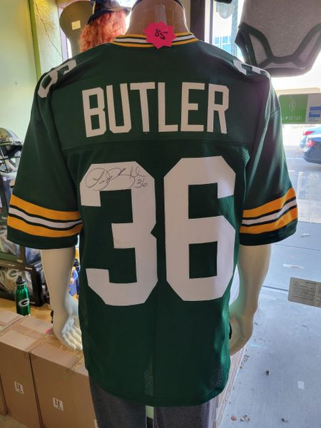 Green Bay Packers Leroy Butler Autographed Custom Jersey