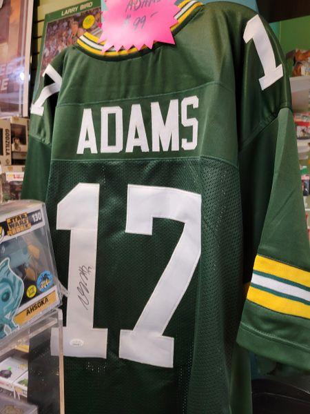 Green Bay Packers Davante Adams Autographed Custom Jersey