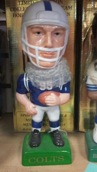 SAM SAM's Indianapolis Colts Team Bobblehead