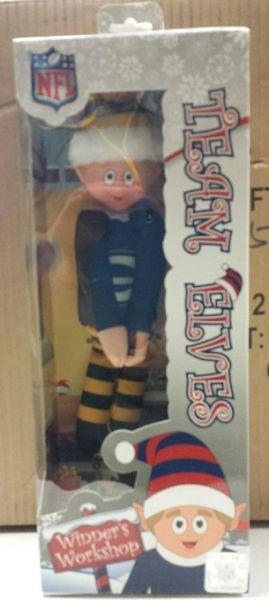 2016 Green Bay Packers Plush Elf Elf On A Shelf Team Mascot