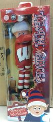 Wisconsin Badgers Plush Elf Elf On A Shelf Mascot