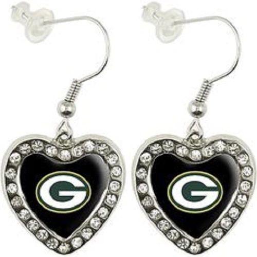 Green Bay Packers Alyssa Milano Dangle Logo Earrings NFL
