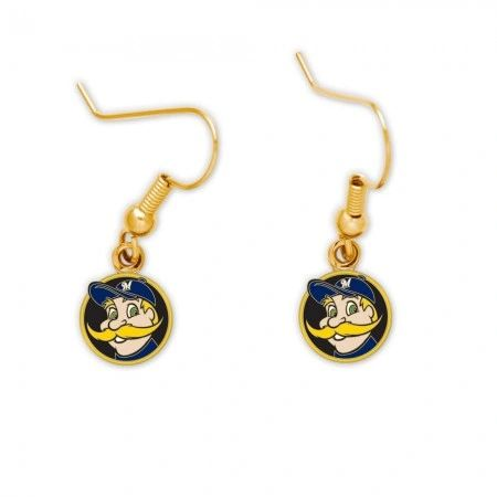 Milwaukee Brewers Bernie Brewer Dangle Earrings MLB