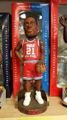 San Antonio Spurs Tim Duncan All Star Jersey Bobblehead