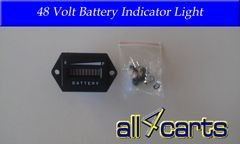 48 Volt Battery Indicator Light