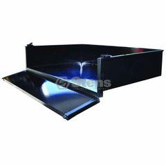 Club Car DS 2001-Newer Steel Black Cargo Box