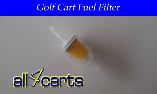 Club Car gas Fuel Filter 1992 and newer (DS & Precedent)