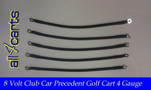 Club Car Precedent Battery Cable Set Golf Cart Cables Precede