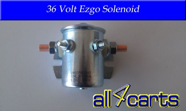 Ezgo 36 Volt Solenoid 1969 and up
